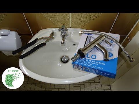changer-le-robinet-d'un-lave-mains.