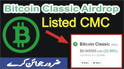 bitcoin classic big airdrop - Earn Free Bitcoin Classic Coins Listed CoinMarketCap