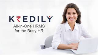 Kredily is a world class hrm and payroll software to manage your complete hr processes through intuitive easy use apps for leave, attendance, employee...