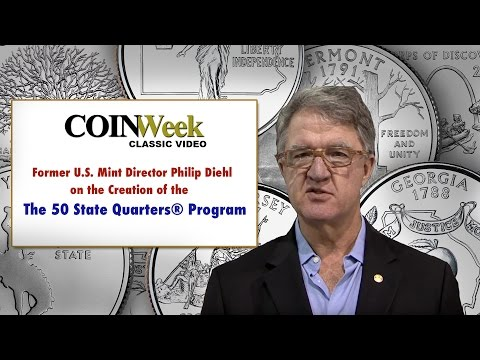 CoinWeek Classic: Philip Diehl Talks About Creation of the 50 State Quarter Program