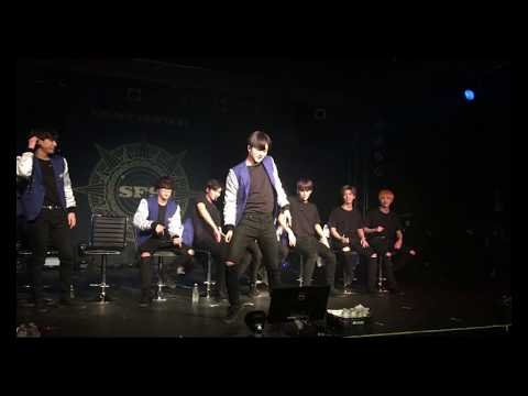 171117 - SF9's Youngbin, Move, Taemin Dance Cover - BE MY FANTASY in Seattle