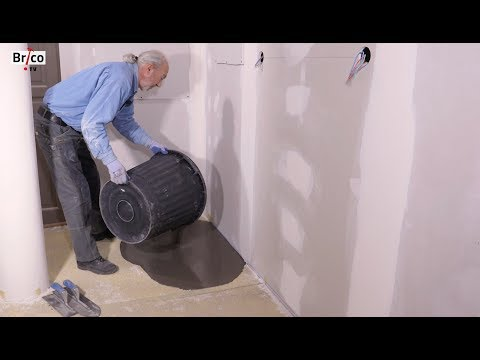 Réaliser un ragréage de sol - Tuto brico avec Robert pour réaliser un ragréage sur sol béton