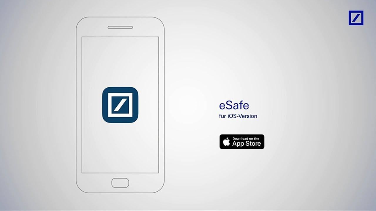 Esafe In Der Deutsche Bank Mobile App Youtube