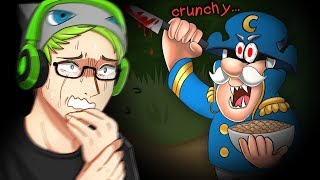 Captain Crunch THE HORROR GAME - Crunchy (RIP ROOF OF MY MOUTH)