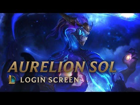 Aurelion Sol, the Star Forger | Login Screen - League of Legends