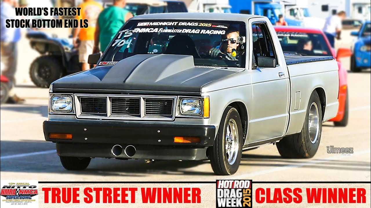8 SEC S10! TWIN TURBO! NMCA WINNER! DRAG WEEK WINNER! FASTEST ...