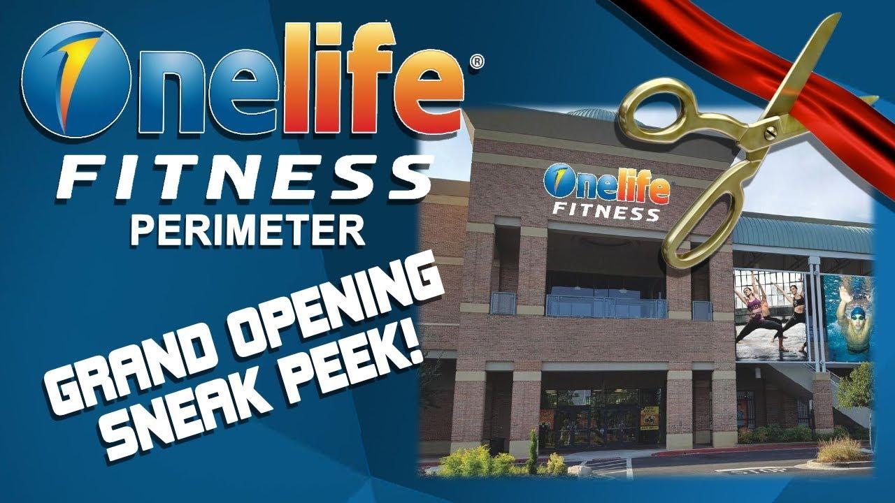 Onelife Fitness Perimeter Grand Opening Sneak Peak Youtube