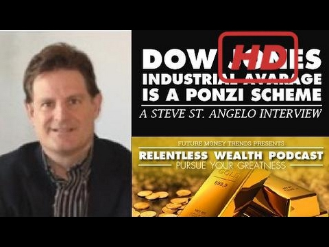 [Full] Dow Jones Industrial Average is a Ponzi Scheme - Steve St Angelo