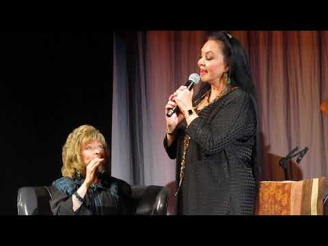Crystal Gayle Sings at a Program for Sister Loretta Lynn's Exhibit at Country Music Hall of Fame