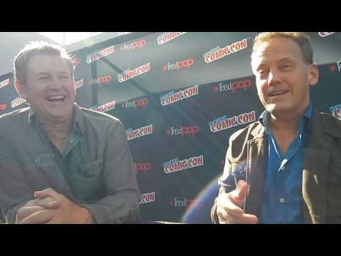 Kirk Fogg & Dee Bradley Baker Talk Nickelodeon's Legends Of The Hidden Temple @ NYCC '16