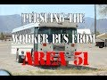 Persuing the Infamous Area 51 Bus