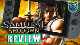 Samurai Shodown 2019 Switch Review - SNK Back to Best? (Video Game Video Review)