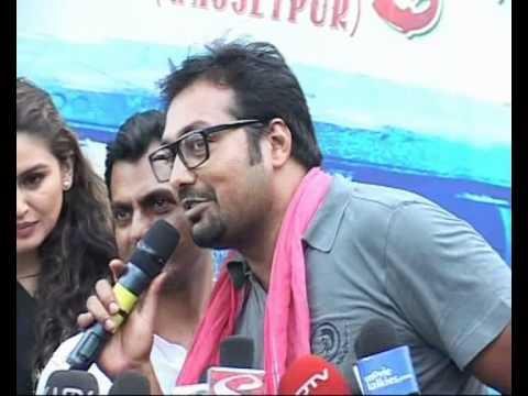 Manoj Bajpai Anurag Kashyap Richa Chadda Huma Qureshi at Gangs Of Wasseypur Music Launch Part 2