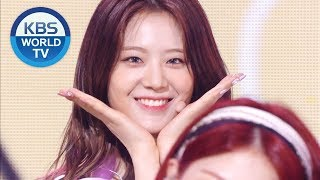 프로미스나인 (fromis_9) - LOVE RUMPUMPUM [Music Bank/ 2019.07.12]