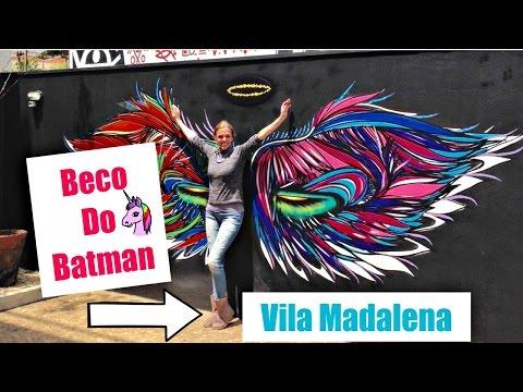 Um tour pelo Beco do Batman, na Vila Madalena