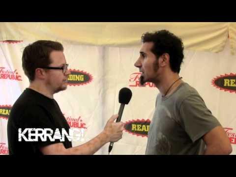 Kerrang! Reading Festival Podcast: Serj Tankian