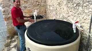 Merida Mexico's first Urban rooftop biogas digester by Solar CITIES