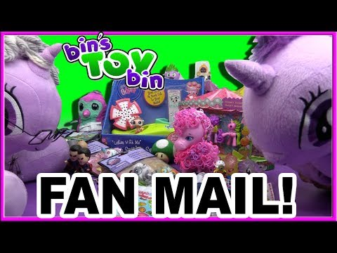 FAN MAIL - We're Back! MLP and LPS Surprises from YOU! | Bin's Toy Bin