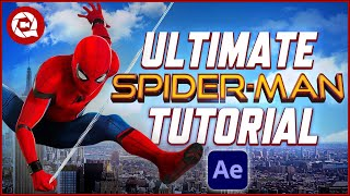 The ULTIMATE SPIDER-MAN Tutorial (Simplified) in After Effects