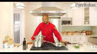 5 Minute Recipe: Orecchiette with Broccoli Rabe and Spicy Caramel