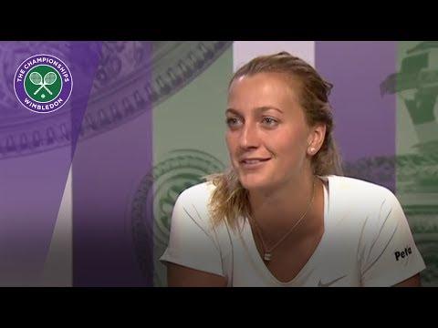 Petra Kvitova Wimbledon 2017 second round press conference
