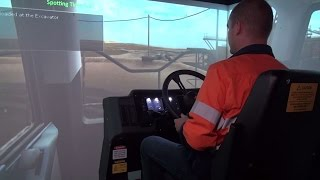 CYBERMINE Haul Truck Simulator for CAT 797B Operators
