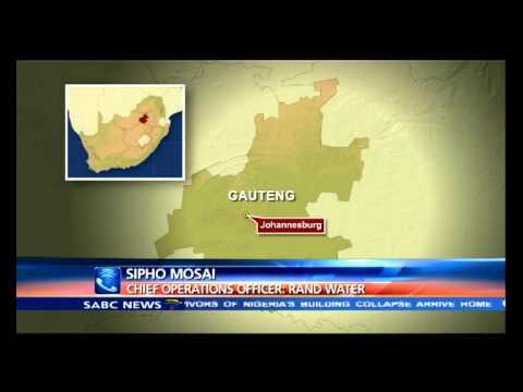 Johannesburg water crisis update: Sipho Masai
