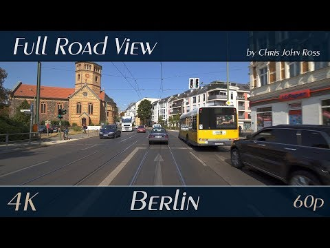 Berlin, Germany: Pankow, Niederschönhausen - Grabbeallee, Hermann-Hesse-Straße, Dietzgenstraße - 4K