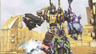 Amazon Exclusive G2 Bruticus Transformers: Fall Of Cybertron Trailer