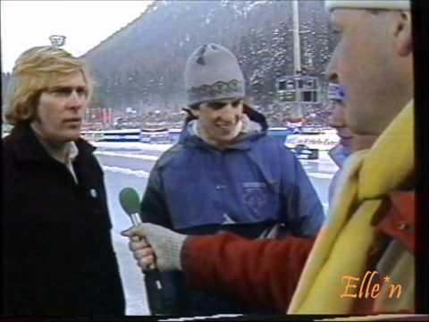 World Championships Allround Inzell 1986 - interview Schenk, Heiden and Vergeer