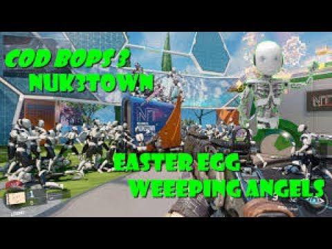 SOOOOOOO SCARY!! Weeping angels - BO3 easter egg