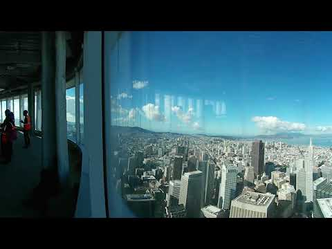 View from the Top: Inside Salesforce Tower (360 video)