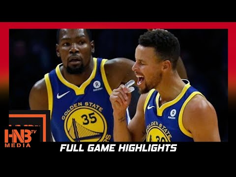 Thumbnail: Golden State Warriors vs San Antonio Spurs Full Game Highlights / Week 3 / 2017 NBA Season