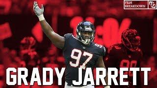 Falcons Film Breakdown || Grady Jarrett vs The Arizona Cardinals 2018
