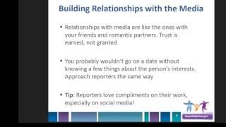 Webinar Pitching Press Strategies Building Media Relationships