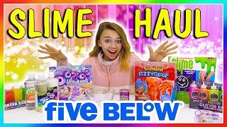 5 BELOW SLIME HAUL REVIEW   We Are The Davises