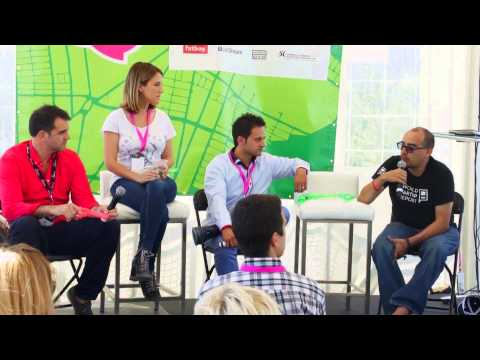 Steve Abrams, Clara Brenner, Marcus Daniels, John Stokes, Dave McClure - Startupfest 2014
