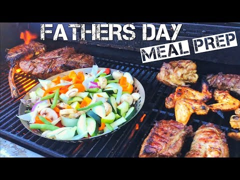 Fathers Day BBQ Protein Meal Prep -Happy Fathers Day Dudes!-