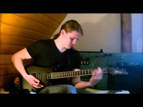 ManOwaR - Die For Metal Guitar Cover + Solo