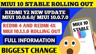 Redmi s2 miui 10 0 7 0 update