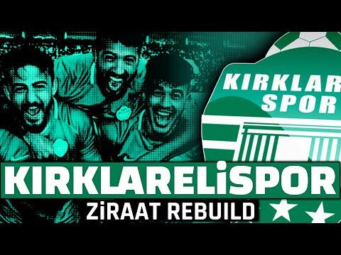 KIRKLARELİSPOR ZİRAAT TÜRKİYE KUPASI ŞAMPİYONU!! // FIFA 20 REBUILD KARİYER