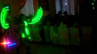 светодиодное шоу на свадьбе Старый Оскол