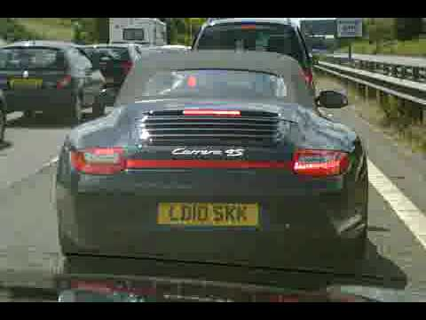 Porsche 911 Gen 2 997 Flashing Rear Led Tail Lamps Youtube