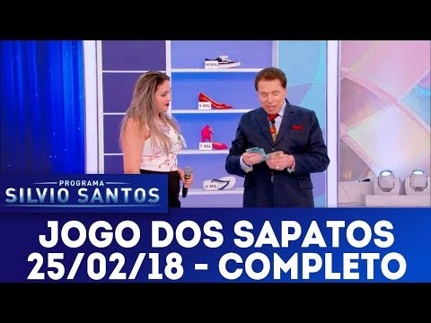 Jogo dos Sapatos - Completo | Programa Silvio Santos (25/02/18)