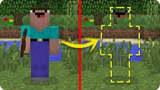 NOOB MINECRAFT VS NOOB INVISIBLE TROLL NOOB SE VUELVE INVISIBLE EN MINECRAFT