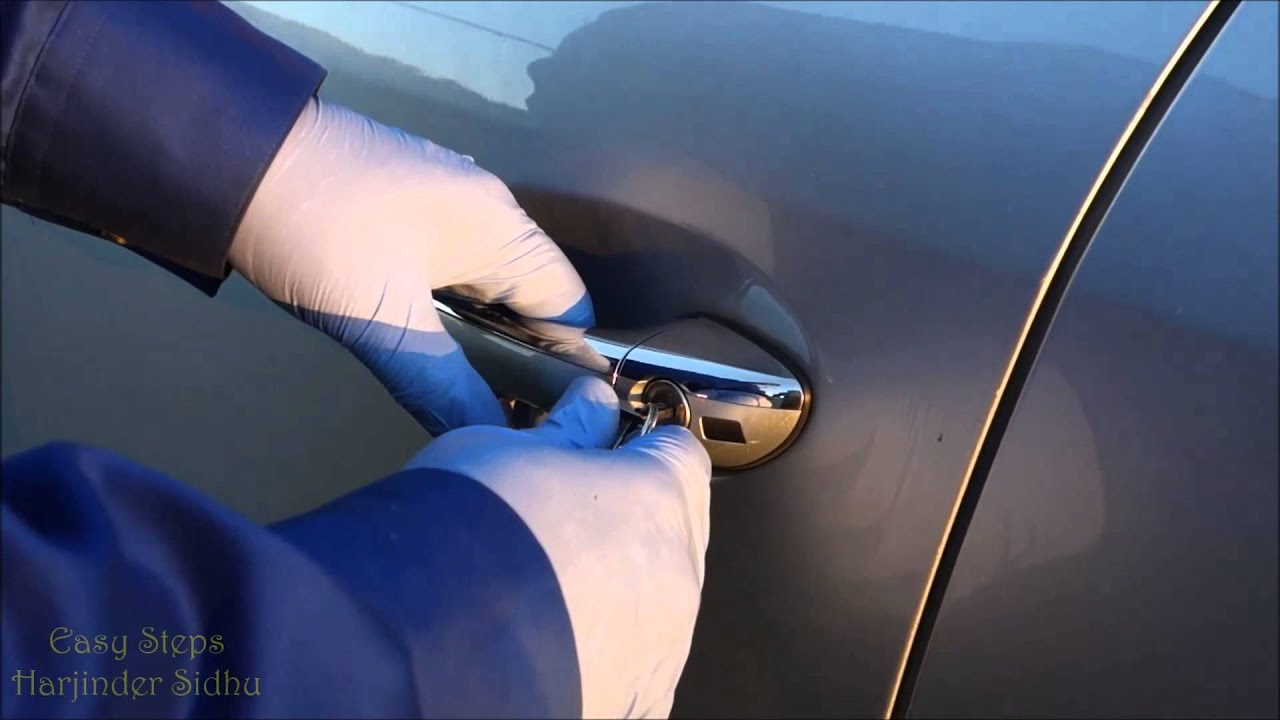 Solved How To Open Mercedes Door With Spare Key Key