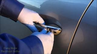 SOLVED - How to open Mercedes door with Spare Key | Key FOB not working | Smart KeyFob