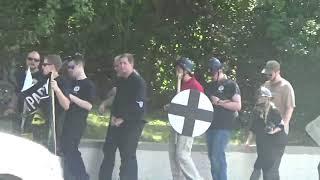 unite the right protest march in cville va #2 8-12-17