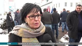 Albánok és magyarok együtt emlékeztek Szkander bégre - 2018.01.17.