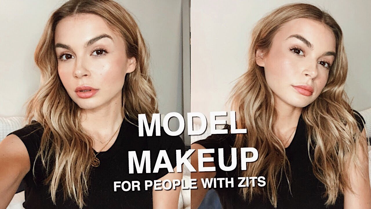 Everyday Model Makeup But For People Who Have Acne Lol Miranda